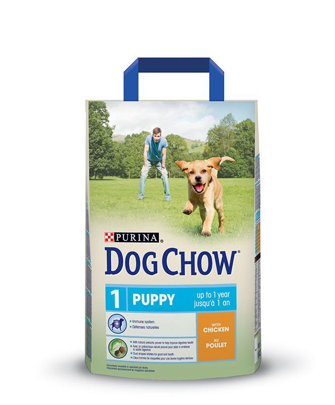 Puppy hondenbrokken meerkleurig 2,5 kg