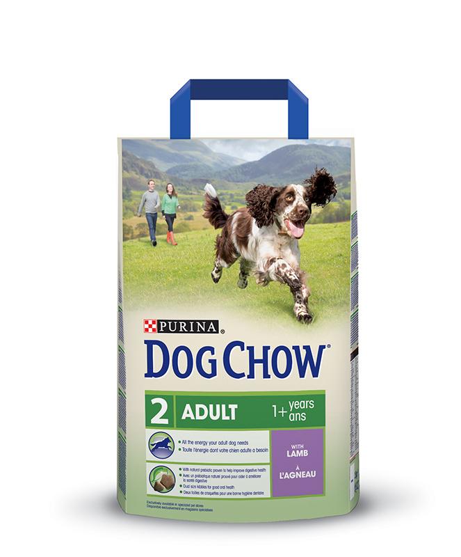 Adult hondenbrokken meerkleurig 2,5 kg