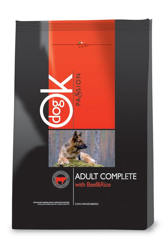 Ok passion - dog hondenbrokken rund meerkleurig 3 kg