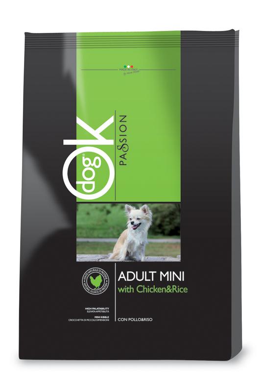Dog hondenbrokken mini meerkleurig 3 kg