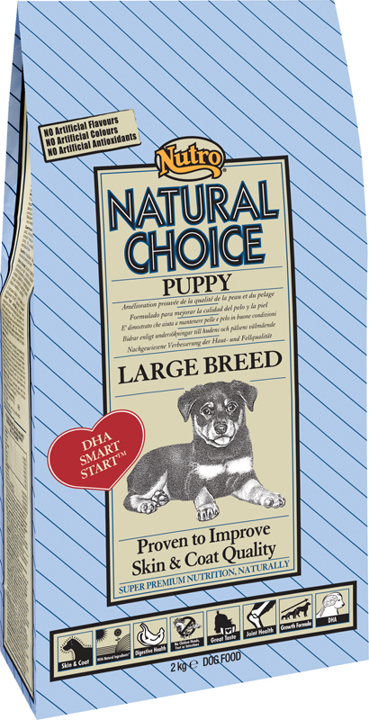 Productafbeelding voor 'Nutro - hondenbrokken meerkleurig 2 kg'