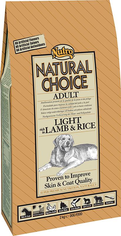 NU ADULT LIGHT RICE/LAMB 10KG 00001
