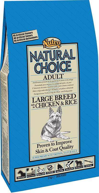 NU ADULT LARGE CHICK/RICE 12KG N 00001