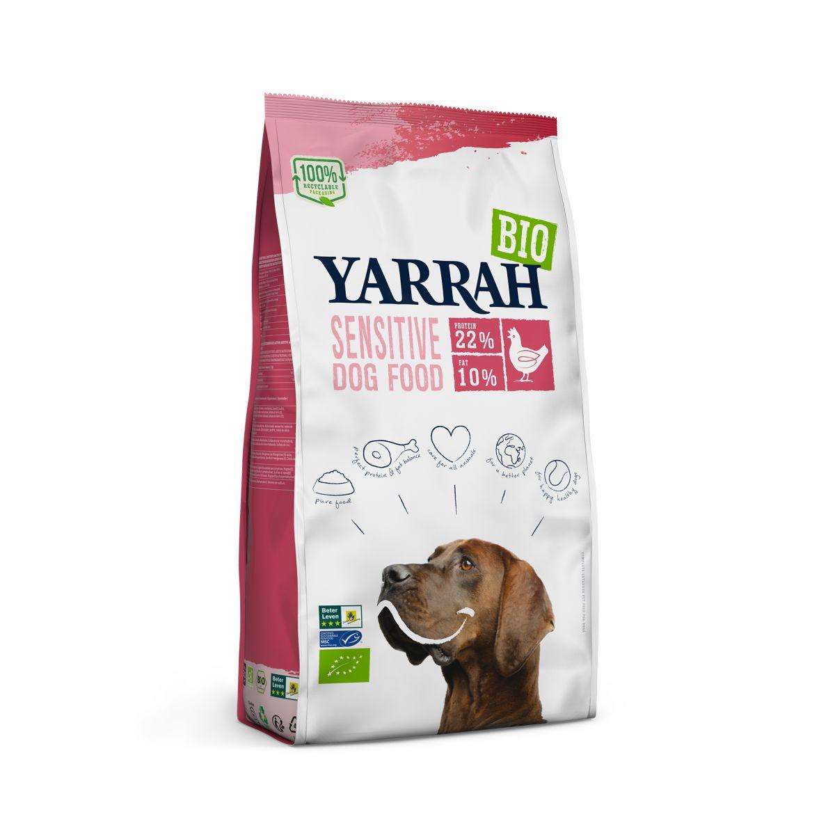 Yarrah - adult sensitive kip en rijst meerkleurig 2 kg