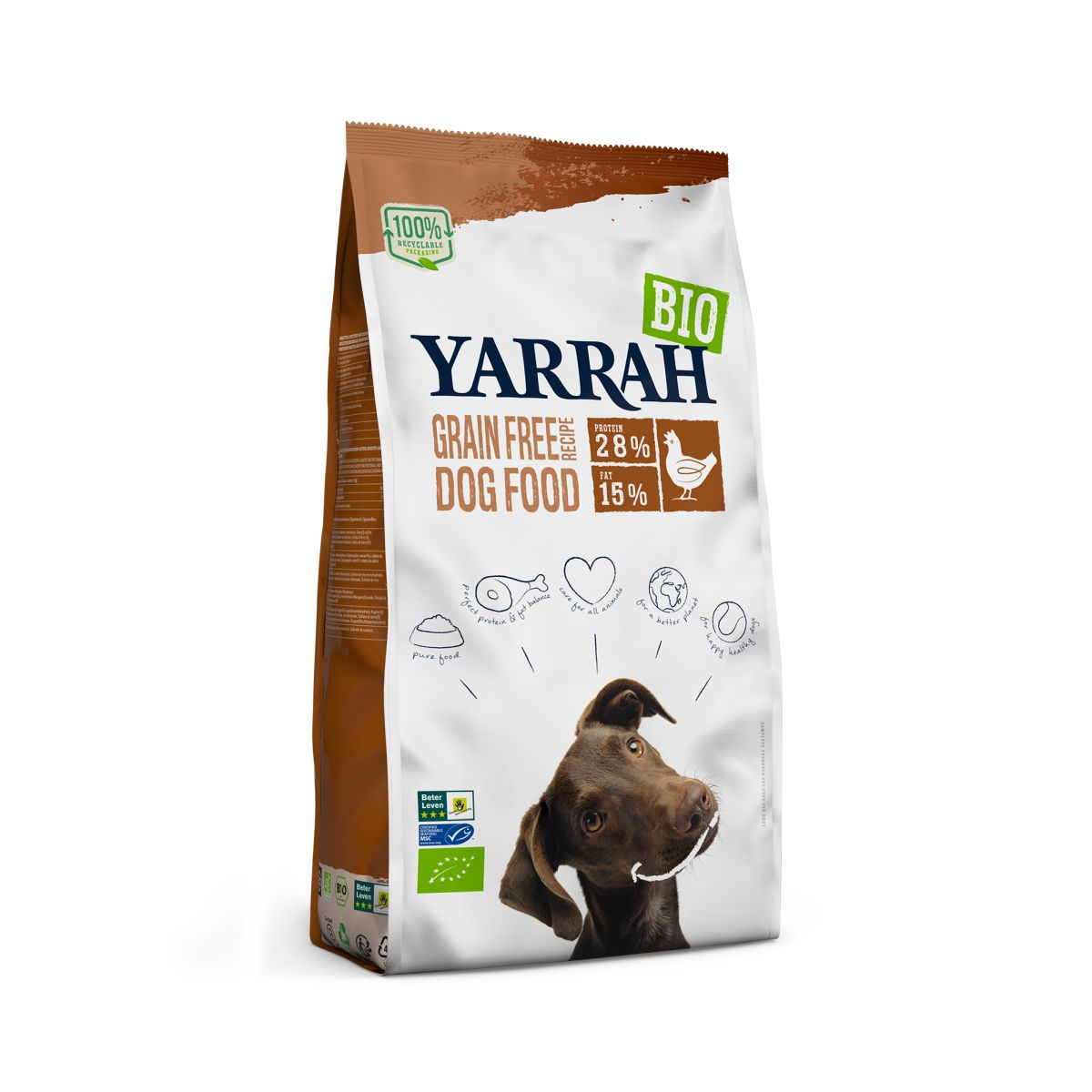YA DOG ADULT C&F G.FREE 2KG N 00001