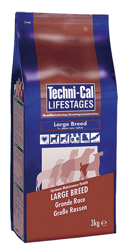 Techni-cal - large breed hondenbrokken meerkleurig 15 kg