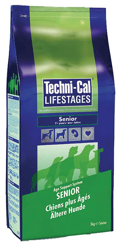Techni-cal - senior hondenbrokken meerkleurig 3 kg