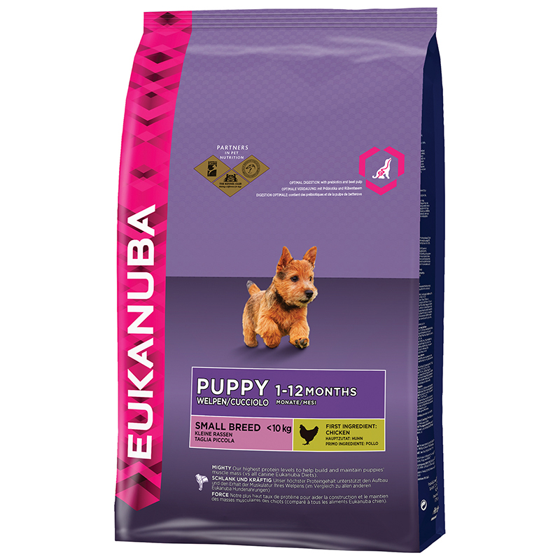 EUK PUPPY SMALL CHICKEN 3KG 00001