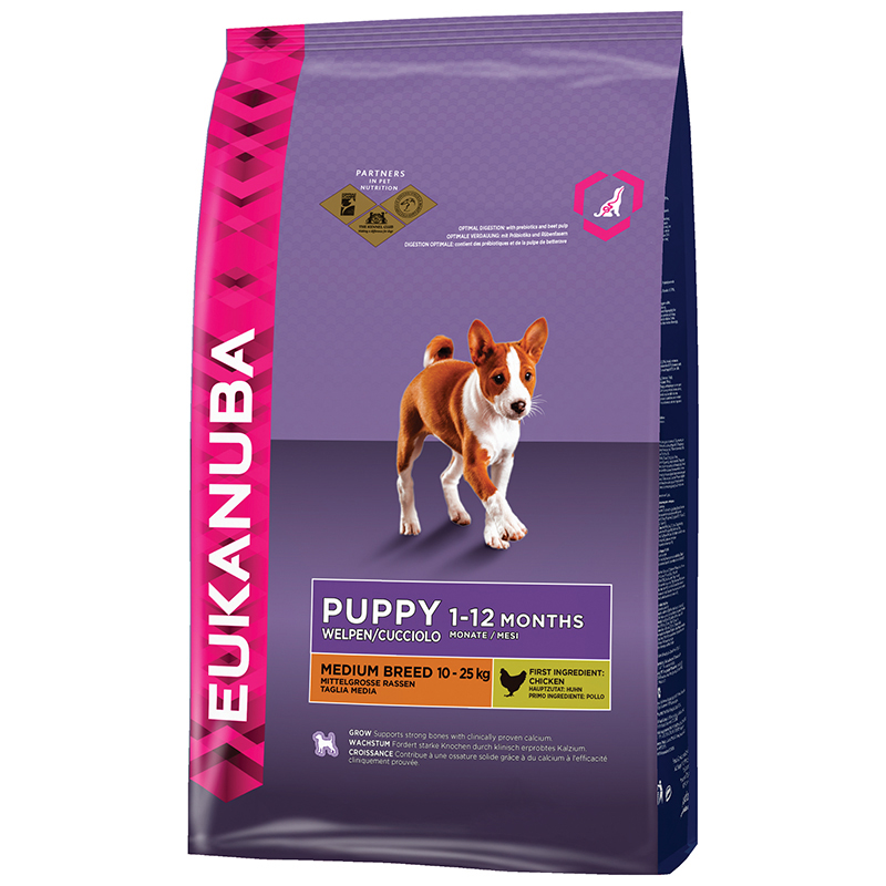 EUK PUPPY MEDIUM CHICKEN 1KG 00001