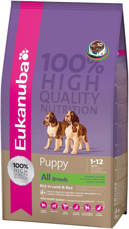 Eukanuba - puppy&junior meerkleurig 1 kg