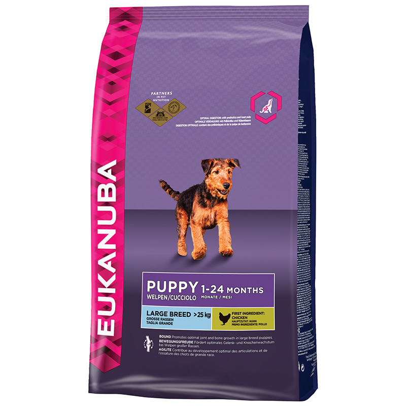 EUK PUPPY LARGE CHICKEN 3KG 00001