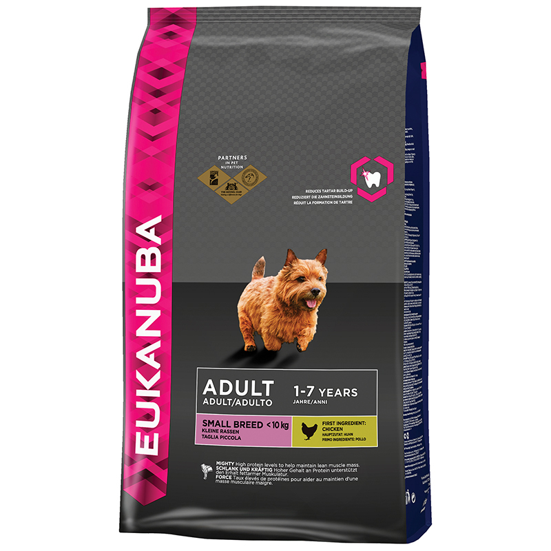 EUK DOG ADULT SMALL 1KG 00001