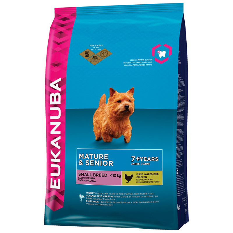 Eukanuba - mature & senior small meerkleurig 1 kg