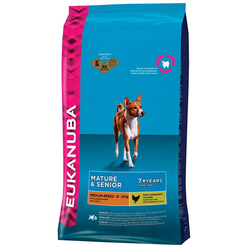 Eukanuba Mature senior medium breed Hondenvoer 3 kg