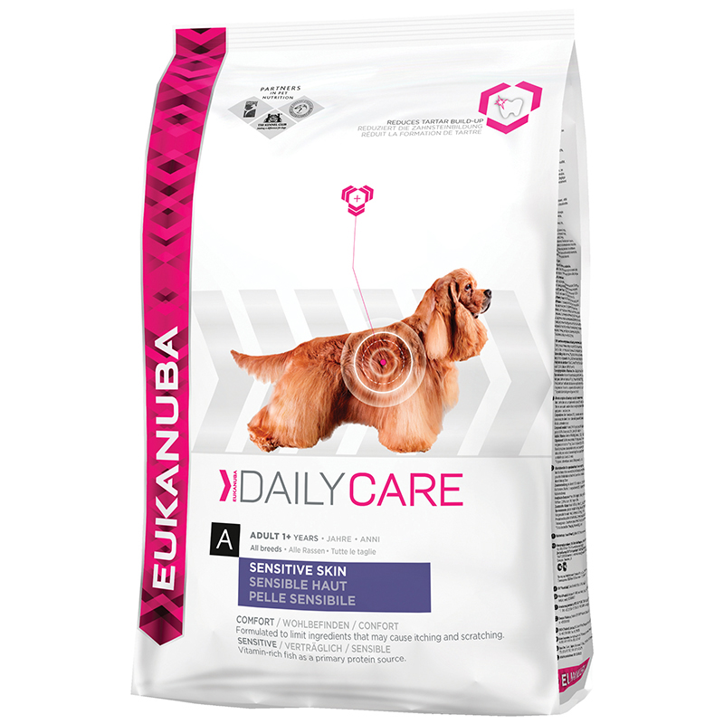 Eukanuba Dog sensitive skin Hondenvoer 12 kg