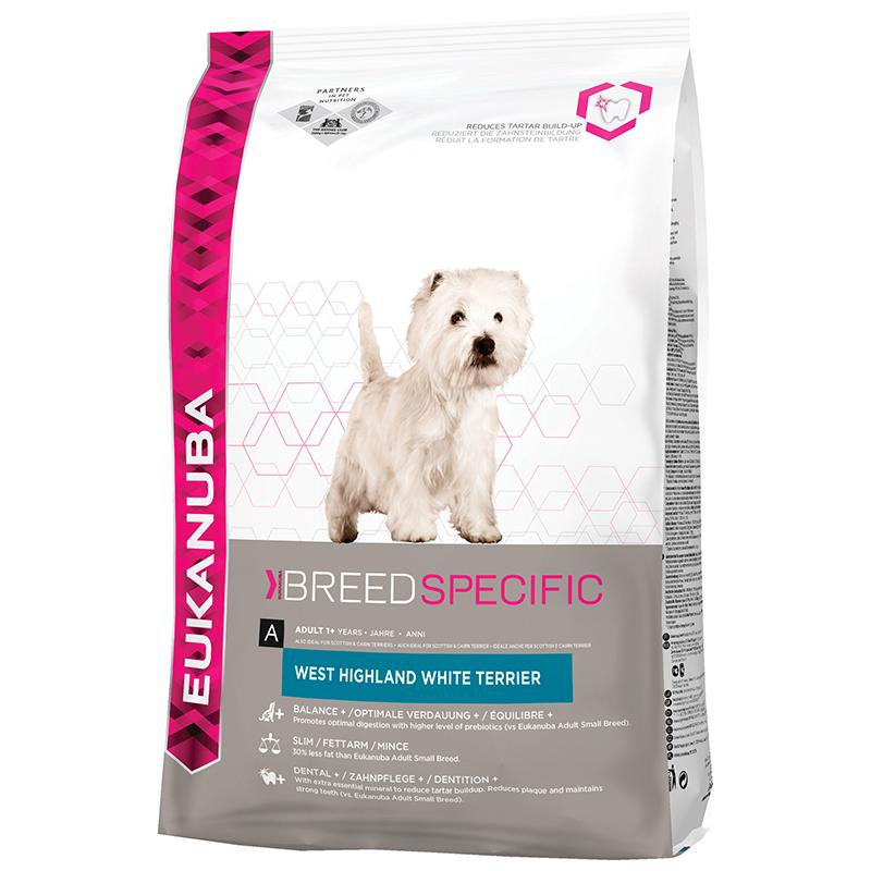 Productafbeelding voor 'West highland white terrier meerkleurig 2,5 kg'