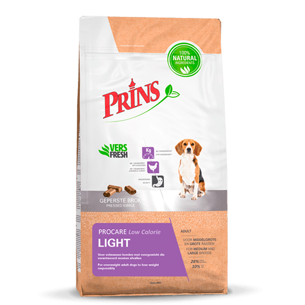 Prins - procare light low calorie meerkleurig 7,5 kg