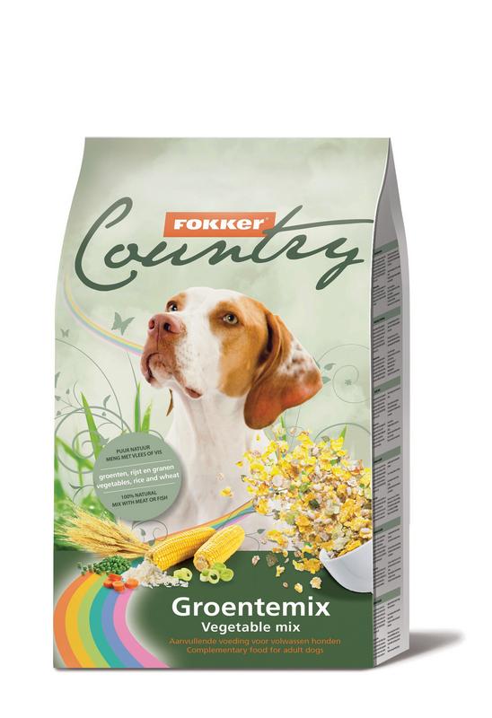 Fokker Country Groentemix hondenvoer 6 kg