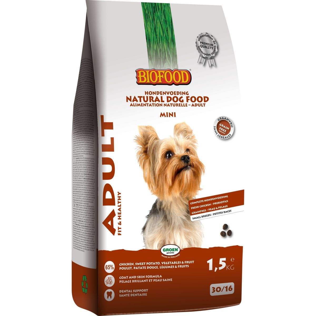 BF ADULT SMALL BREED 1.5KG N 00001