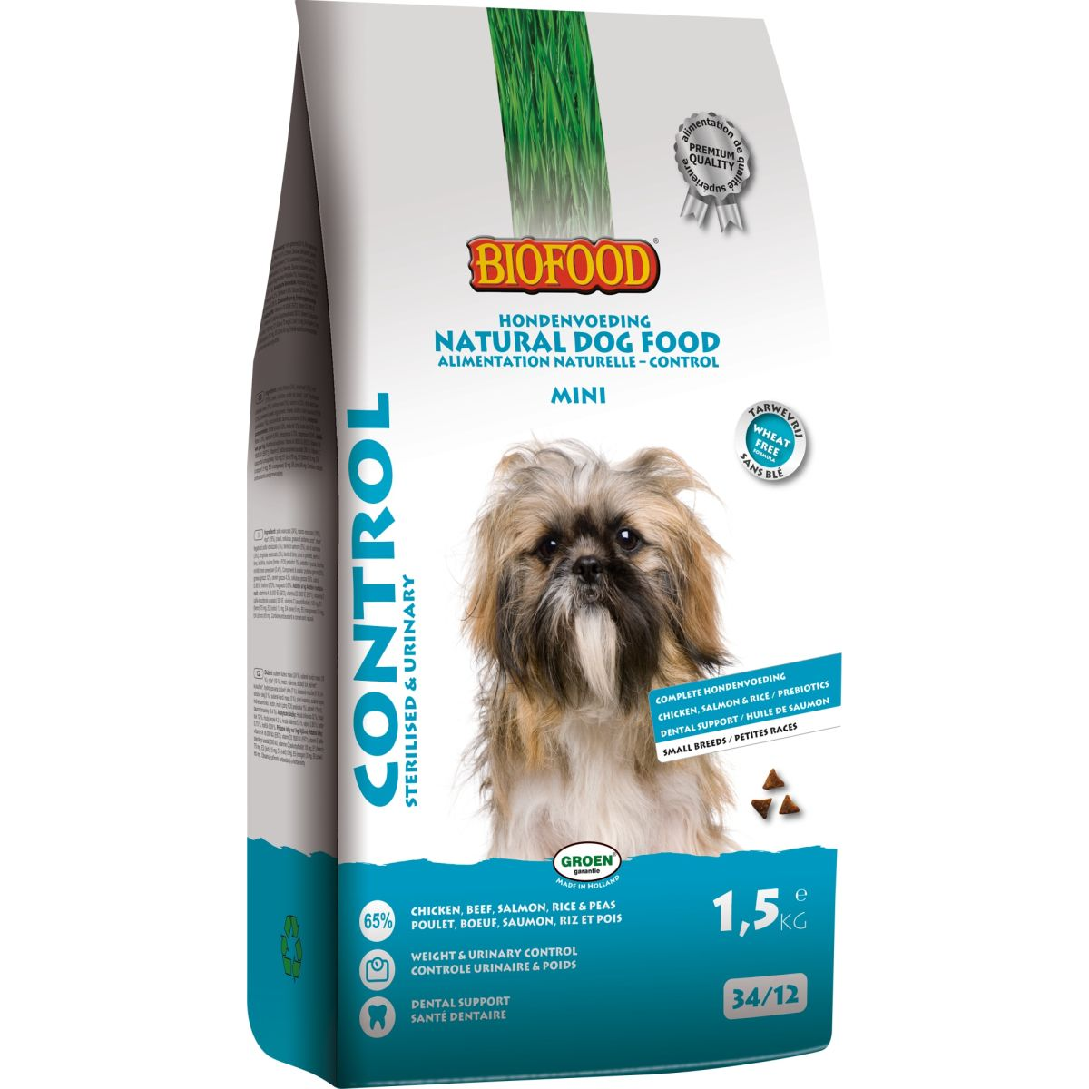 BF ADULT CONTROL S.BREED 1,5KG N 00001