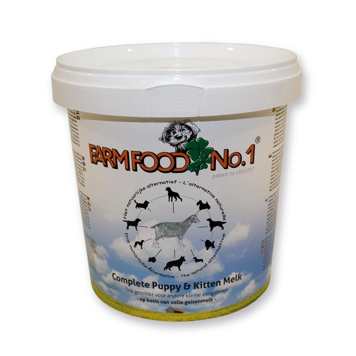Farm Food puppy en kitten melk 500 gram