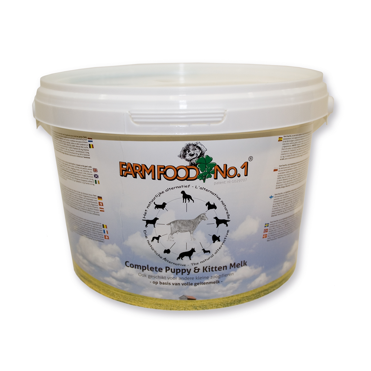 Farm Food puppy en kitten melk 1.5 kg