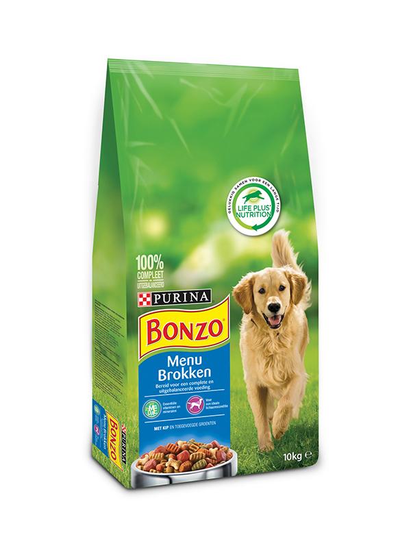 Bonzo - menubrokken meerkleurig 10 kg