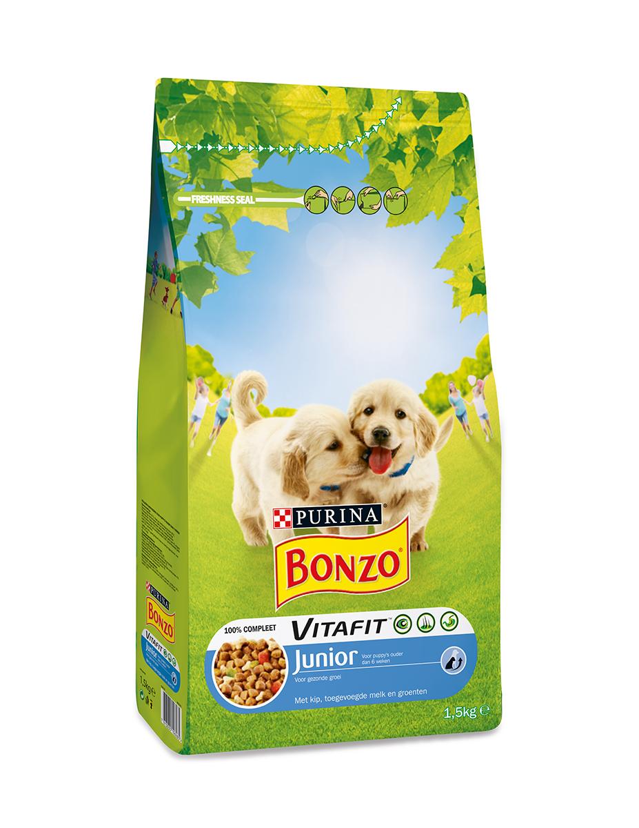 Puppy&junior brokken meerkleurig 1,5 kg