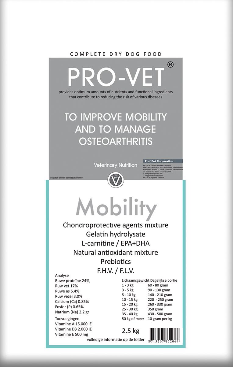 Pro-vet - mobility meerkleurig 2,5 kg