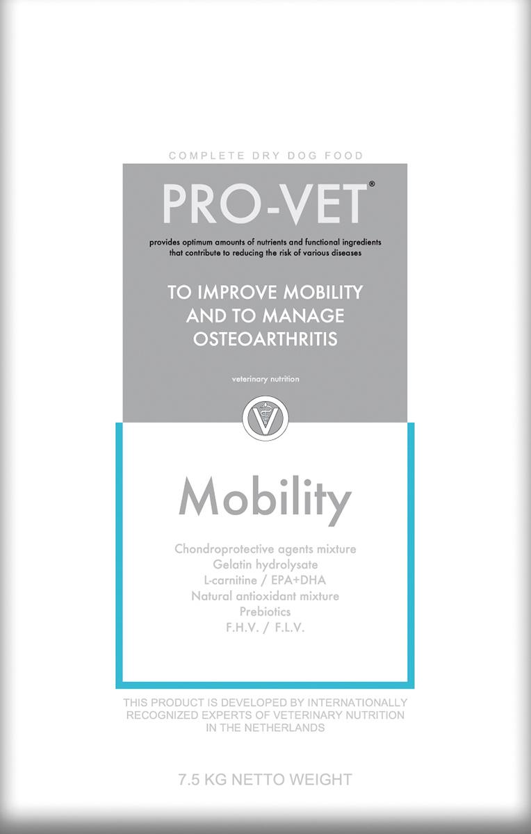 Pro-vet - mobility meerkleurig 7,5 kg