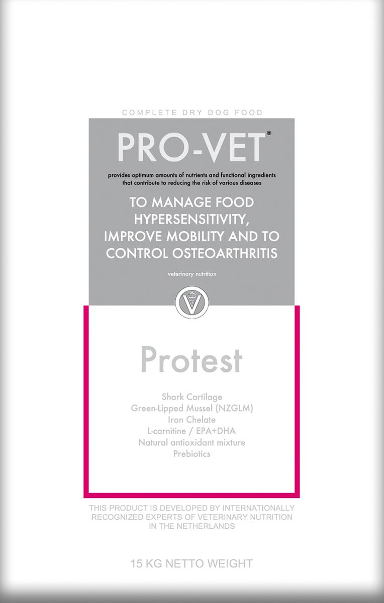 Pro-vet - protest meerkleurig 15 kg