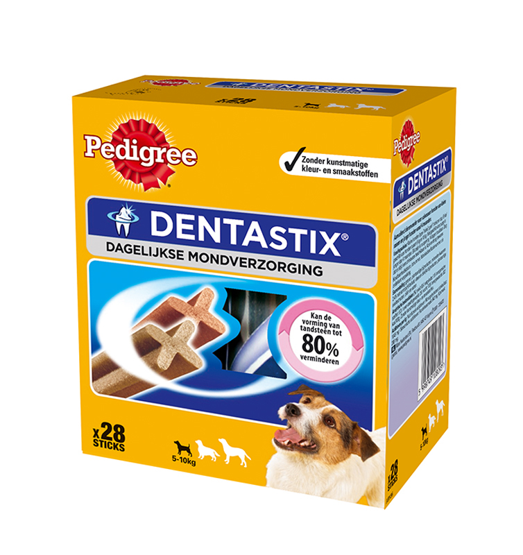 Dentastix mini pack meerkleurig 440 gr