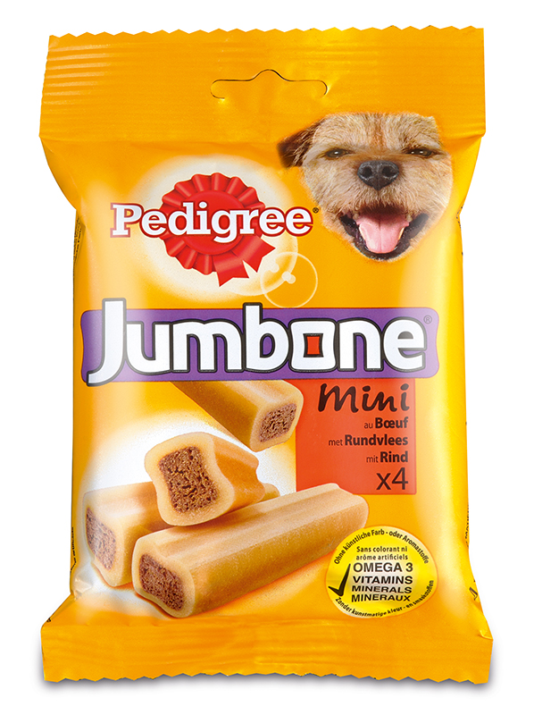 Pedigree 180 gr snack jumbone mini