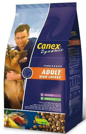 Dynamic adult high energy meerkleurig 12,5 kg
