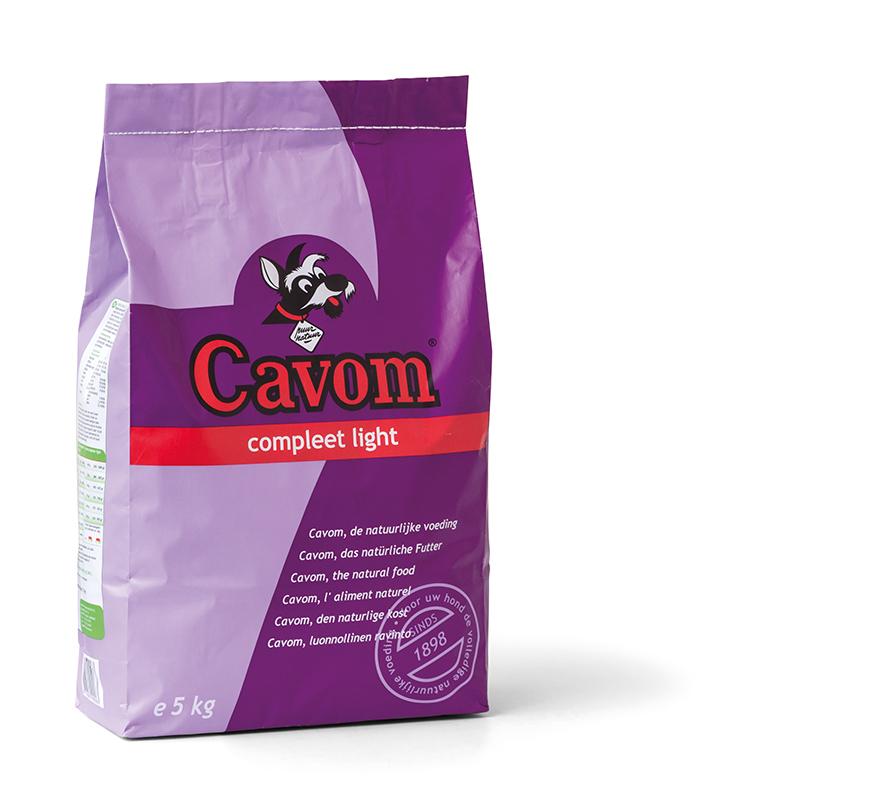 Cavom - compleet light meerkleurig 5 kg