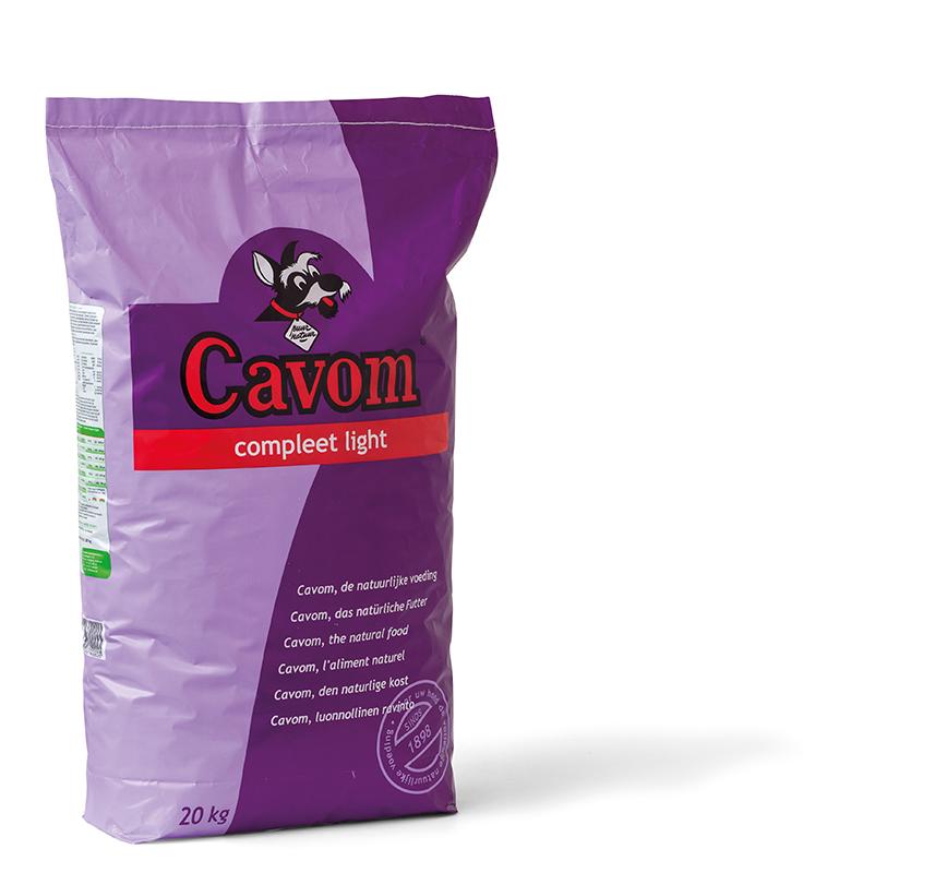 Cavom - compleet light meerkleurig 20 kg