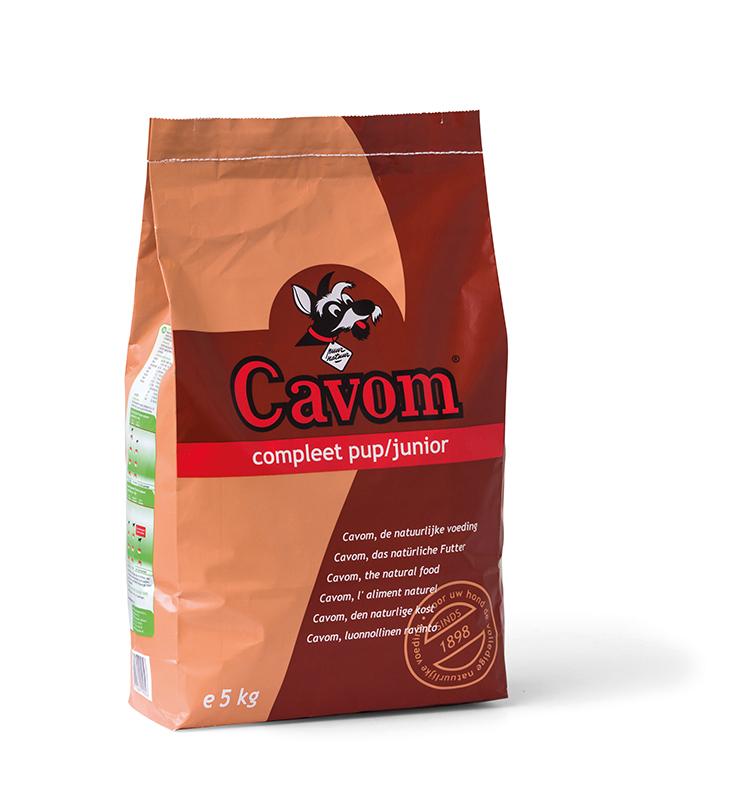 Cavom - compleet puppy/junior meerkleurig 5 kg