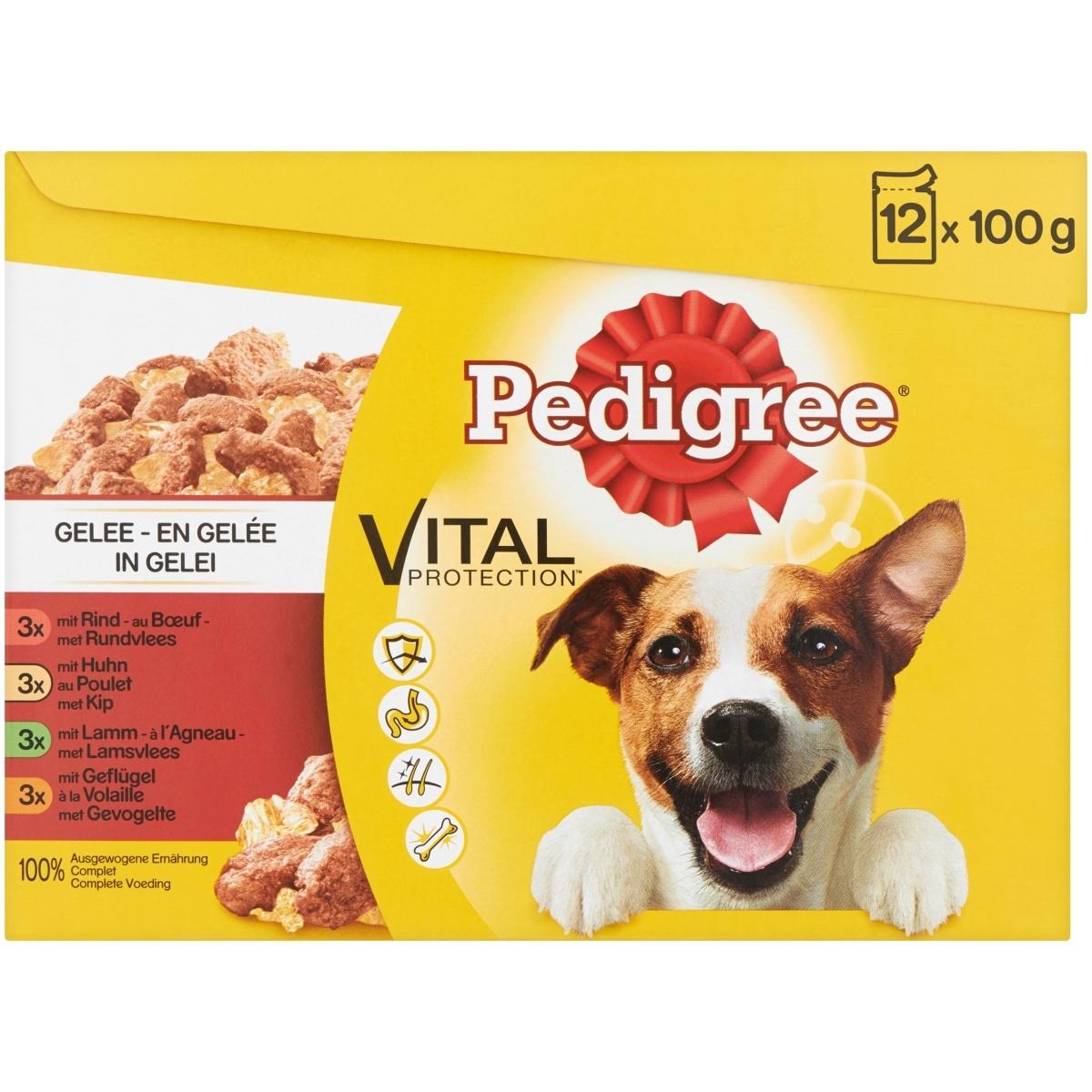 Productafbeelding voor 'Vital pro gelei meerkleurig 12 x 100 gr'