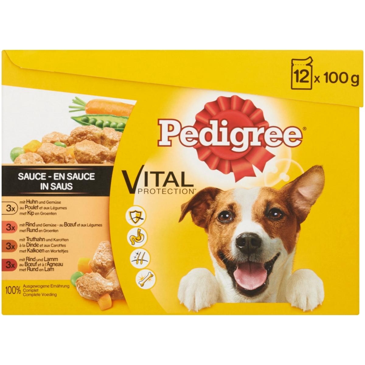 Productafbeelding voor 'Vital pro saus meerkleurig 12 x 100 gr'