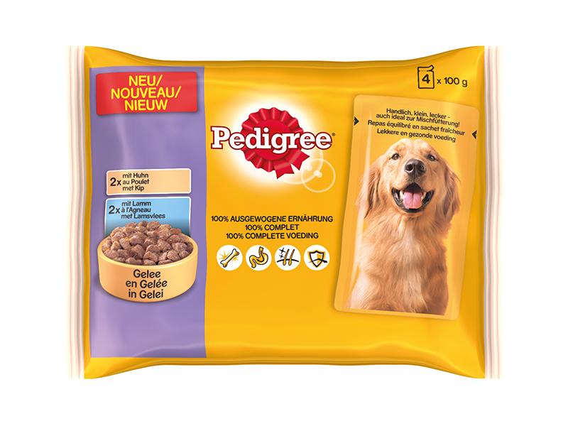 Productafbeelding voor 'Multipack pouch meerkleurig 4 x 100 gr'