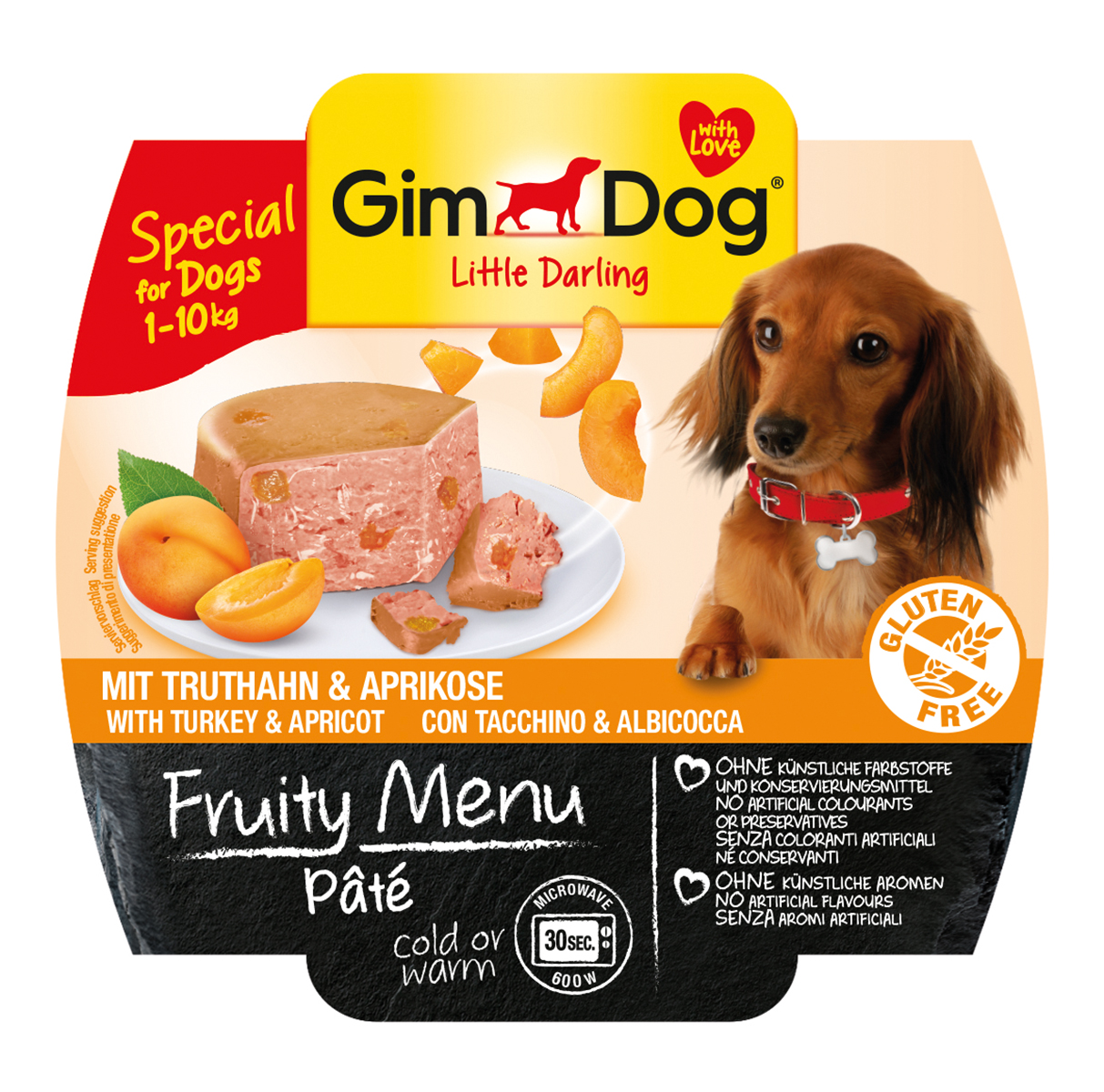 Gimdog - little darling fruity menu meerkleurig 100 gr