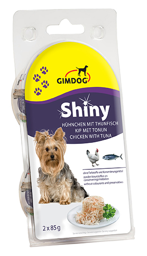 Shiny dog - adult meerkleurig 170 gr