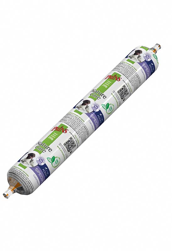 Productafbeelding voor 'Prins - naturecare hond worst special meerkleurig 250 gr'