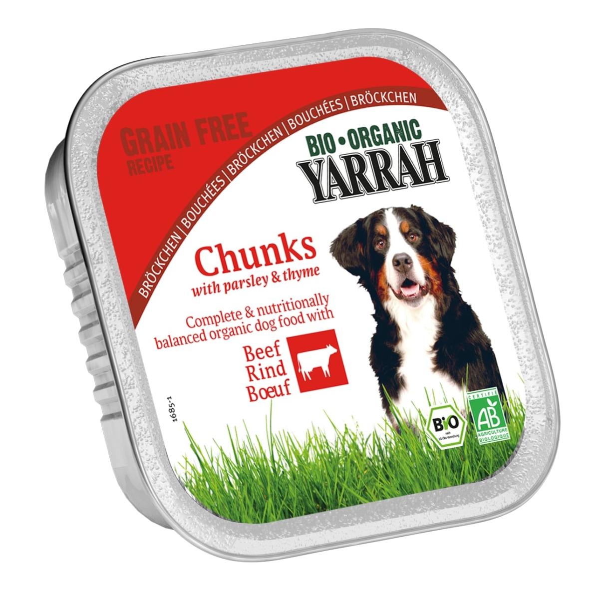 Yarrah - biologische brokjes in saus meerkleurig 150 gr
