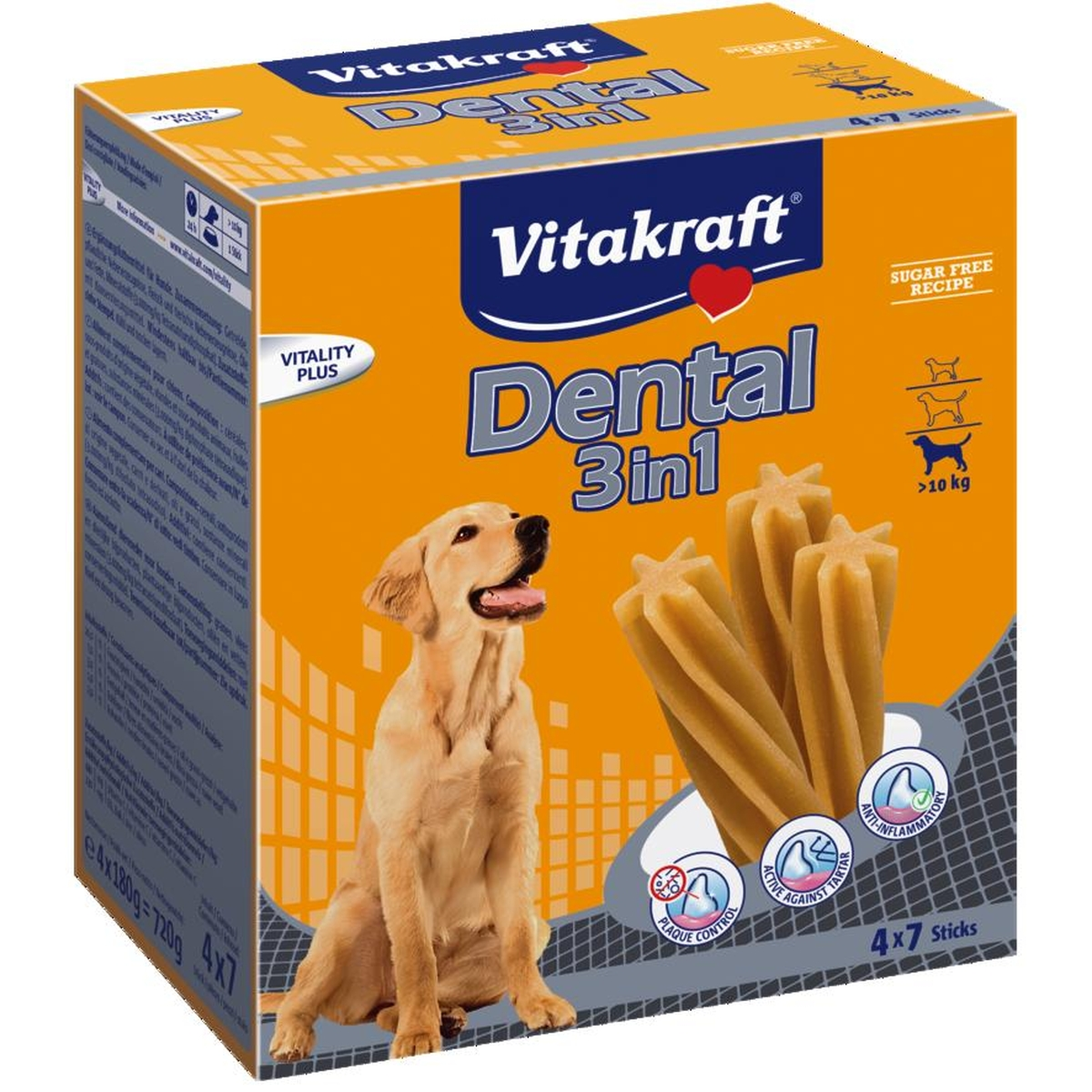 Multipack dental m 3 in 1 meerkleurig 180 gr