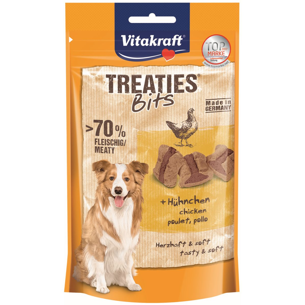 Vitakraft Treaties Bits hondensnack Kip