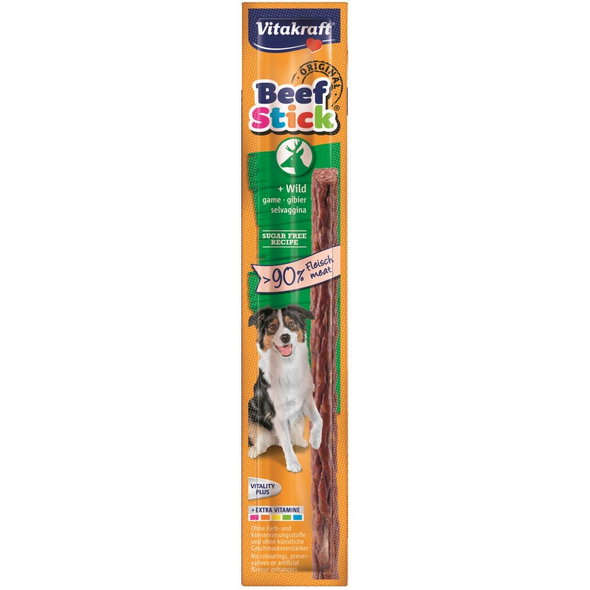 Vitakraft - beefstick wild meerkleurig 12 gr