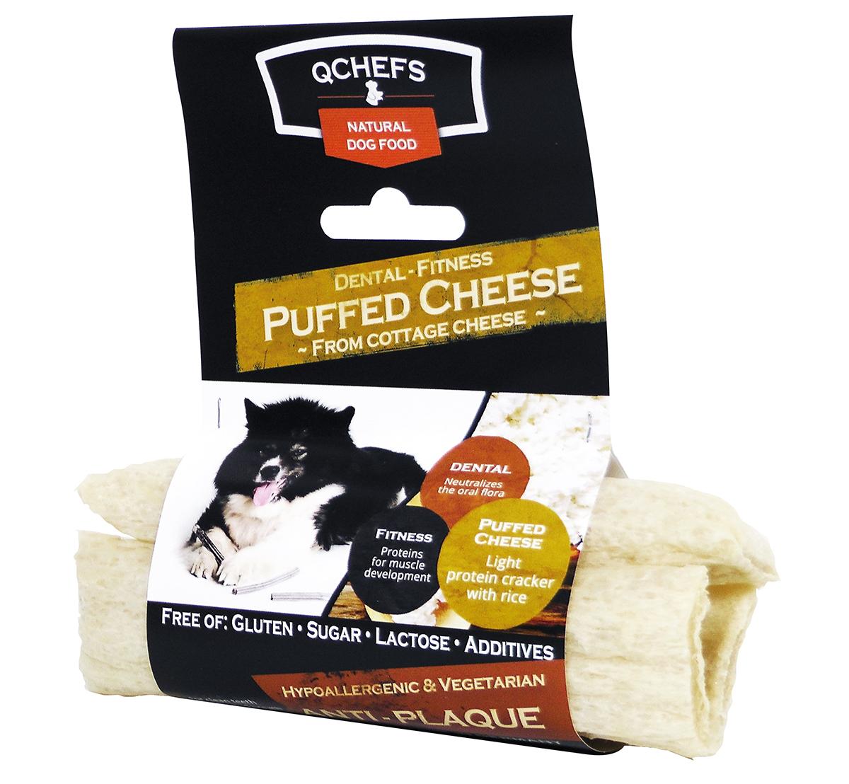 Puffed cheese meerkleurig