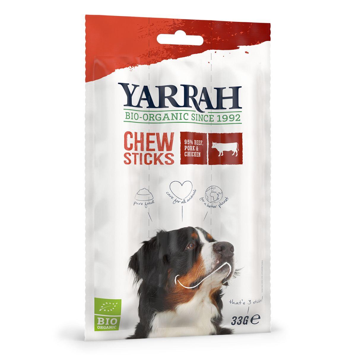 Biologische hondensnack meerkleurig 33 gr