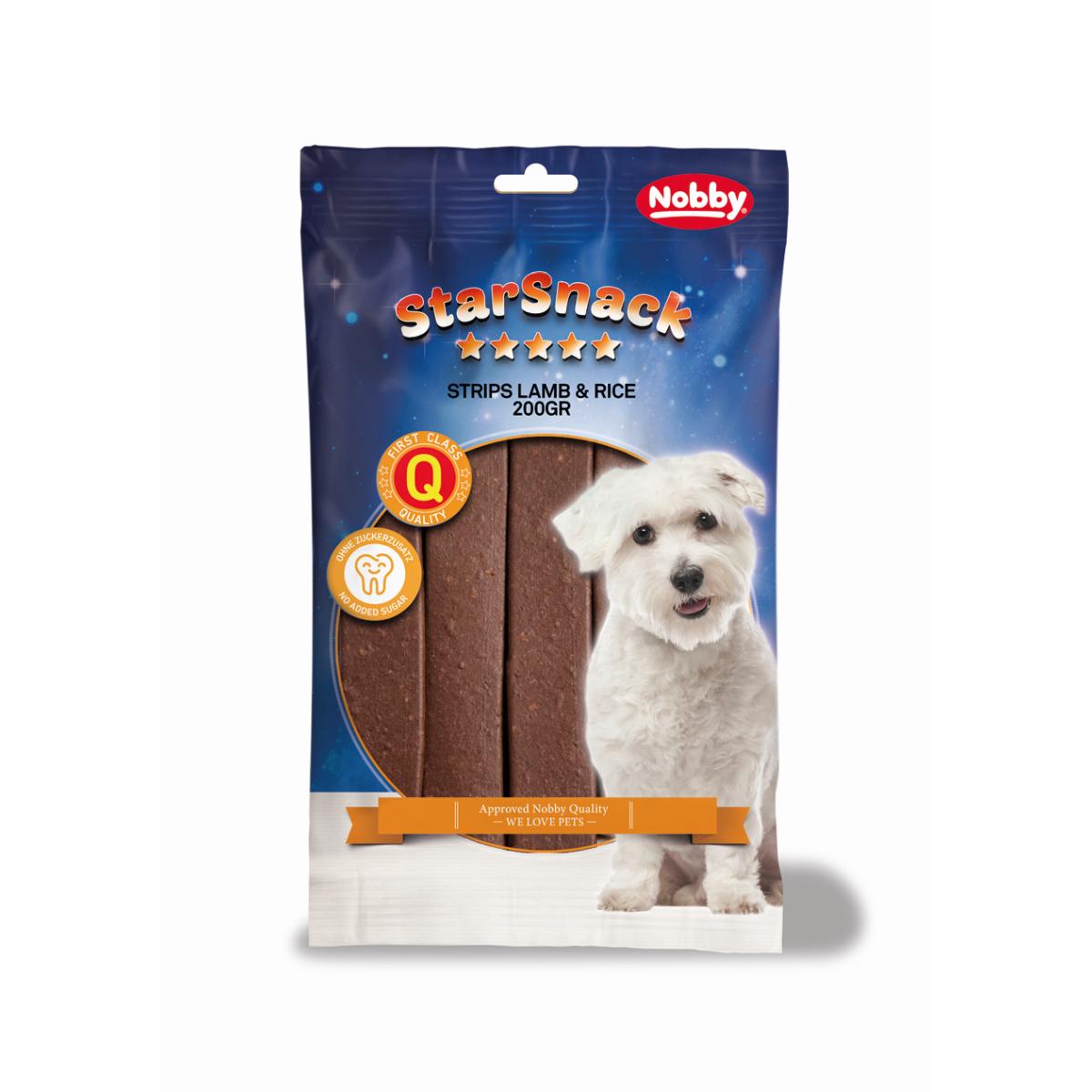 Nobby - starsnack jerkey 200 gr
